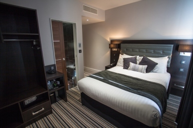Double room at The W14 Hotel